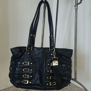 Jimmy Choo Authentic Black Leather
